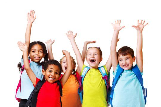 Kinderen-juichen